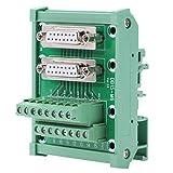Riel DIN DB15, Compre Con Facilidad Conexión Eléctrica Tablero De Bloque De Terminales Tablero De Módulo De Ruptura De Bloque Diseño Estándar Instalación Simple Adaptadores En Serie