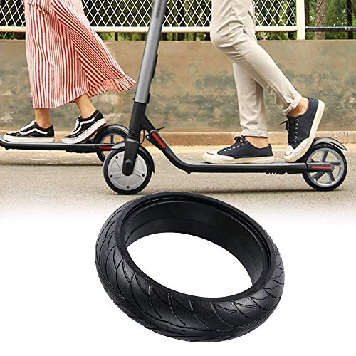 WELLSTRONG Electric Scooter Solid Tires Front Rear Solid Tire Replacement for Ninebot ES Electric Scooter Wheel 1pc (8 Inch)