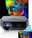 ROTECH - Proiettore Portatile - Video proiettore Wifi Mini Per Telefono - Schermo Portatile Home Cinema - Compatibile Con - Android e Ios - Supporto 1080p-Chromecast- Stivck