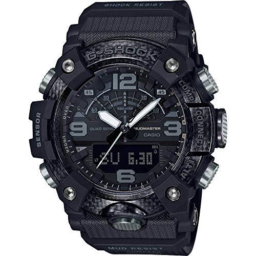 Casio G-Shock Mudmaster GG-B100-1BER - Reloj Resistente a los Golpes con Brújula, Altímetro/Barómetro, Termómetro y Bluetooth.