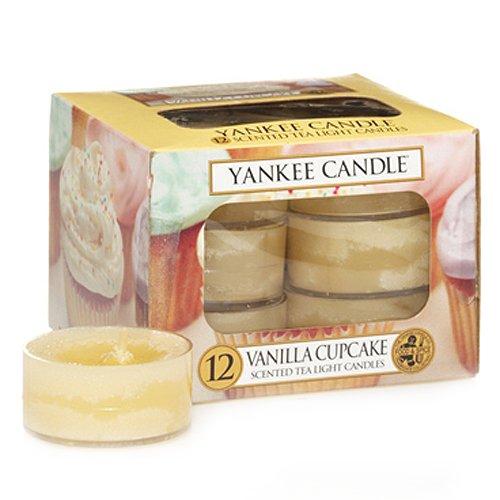 Yankee Candle 11126 Duftteelichter Vanilla Cupcake