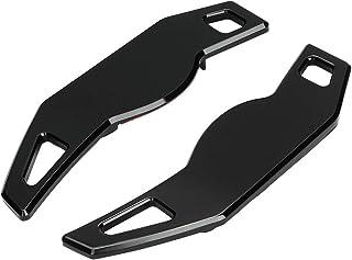 KIMISS 2pcs Lenkrad Schaltpaddel Extensions Aluminium Alloy Lenkrad Zubehör