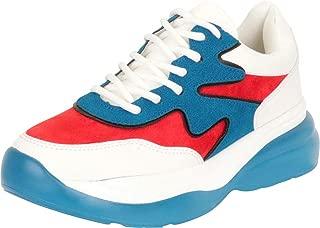 Cambridge Select Women's Retro 90s Ugly Dad Chunky Platform Fashion Sneaker