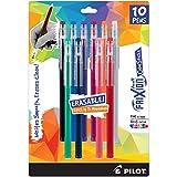PILOT FriXion ColorSticks Erasable Gel Ink Stick Pens, Assorted Color Inks, 10-Pack (32454)