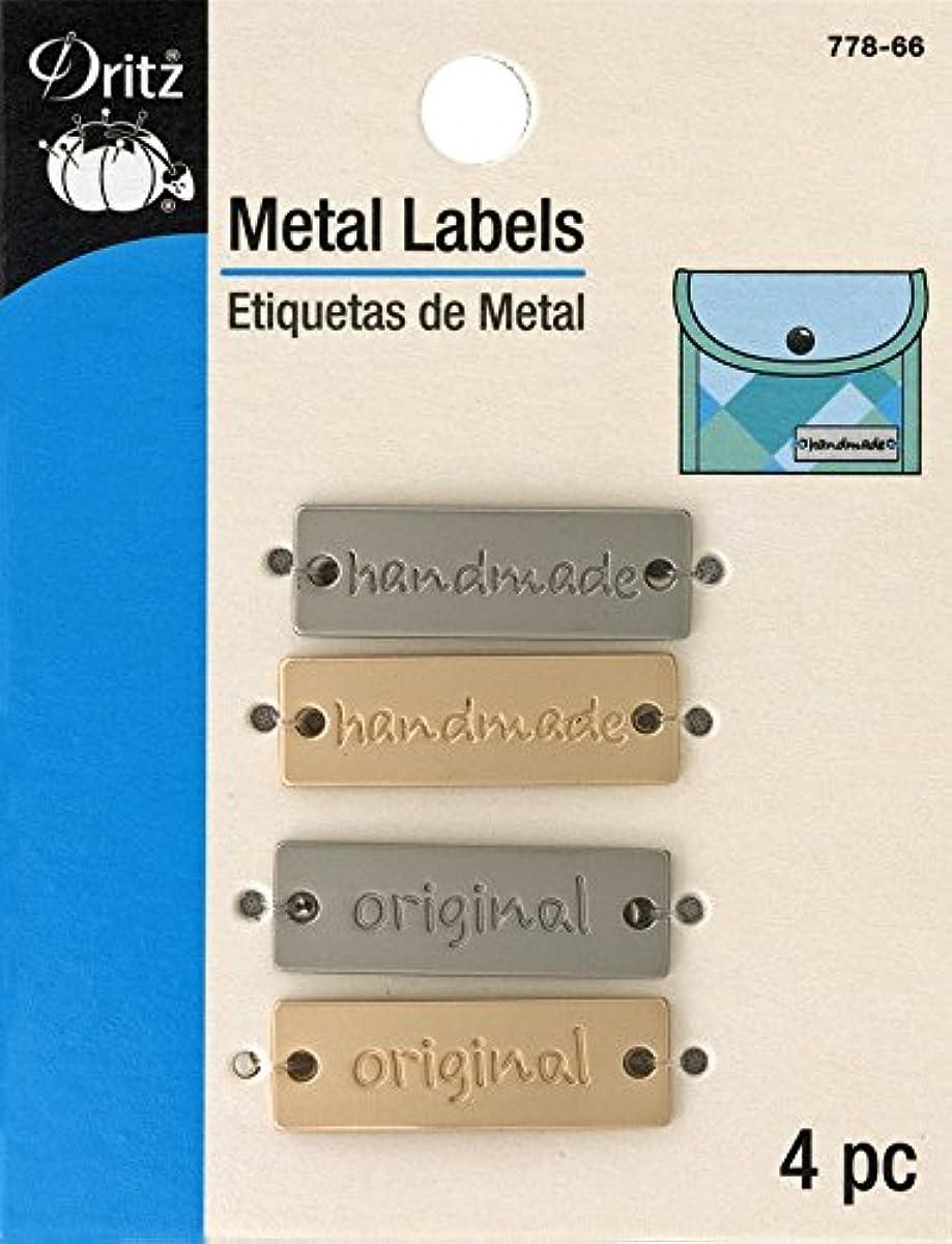Dritz 778-66 Rectangle Metal Label,