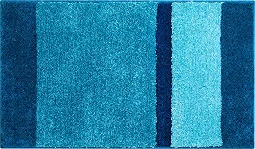 Grund Room Alfombra de Baño, Poliacrílico Supersoft, Turquesa, 60x100 cm
