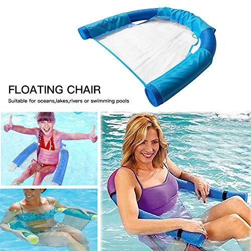 BonTime Schwimmende Stuhl-Swimmingpool-Sitzpool-Sich hin- und herbewegender Bett-Stuhl-Pool-Nudel-Stuhl