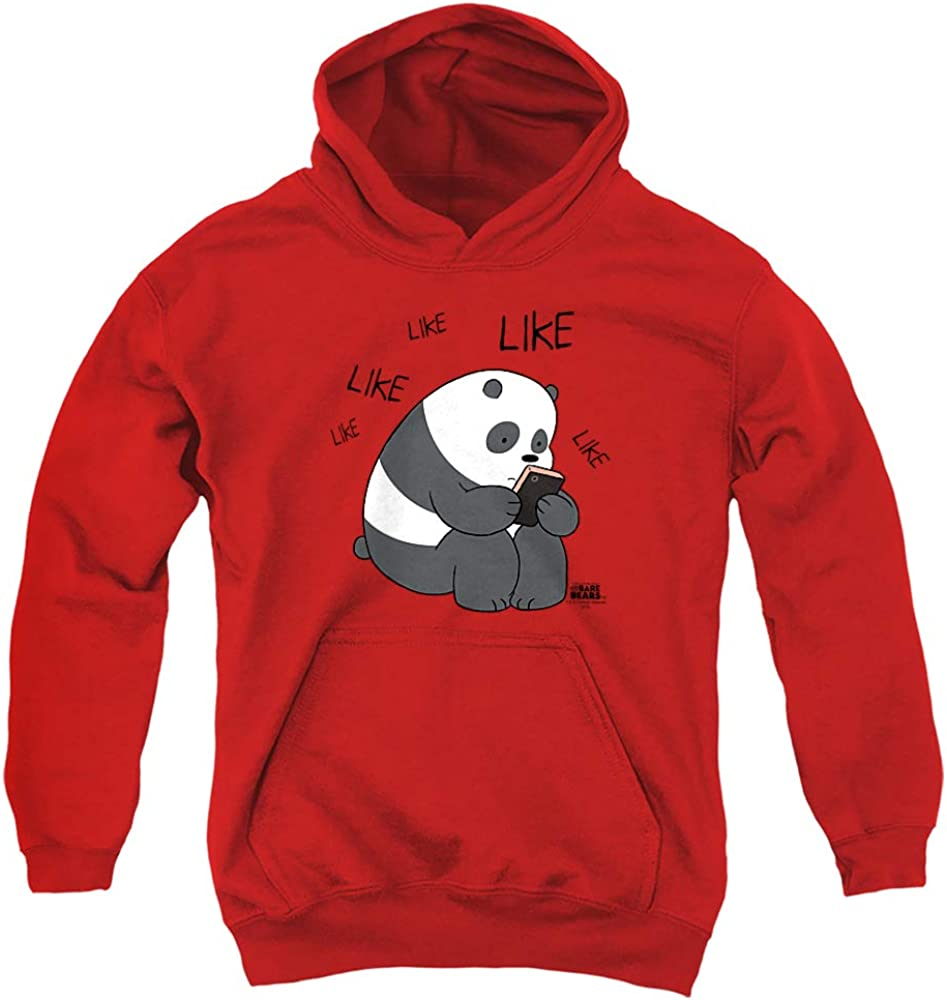 Challenge the lowest price of Japan We Ranking TOP20 Bare Bears Like Youth Hoodie Unisex Pull-Over