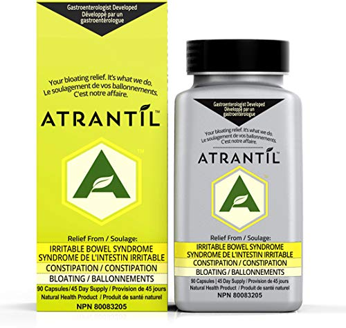 Atrantil: IBS, Bloating, Abdominal Discomfort, Change in Bowel Habits, and Powerful Polyphenols for Everyday Digestive Health,90 count