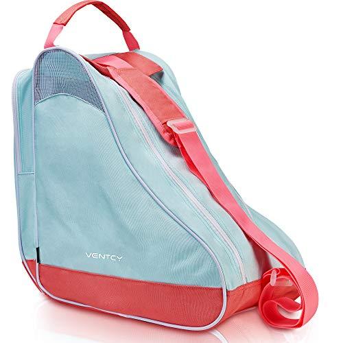 VENTCY Inliner Tasche, Skischuhtasche Kinder, Rollschuhe Tasche, Tasche für Inliner, Eislauf Inliner Tasche Kinder, Rollschuhe Tasche, Skatertasche für Kinder/Erwachsene (bis 28 zu 43(EU))