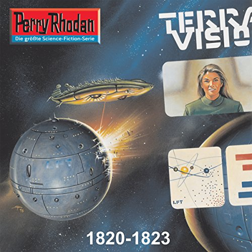 Edition Thoregon: Perry Rhodan 1820-1823 Titelbild