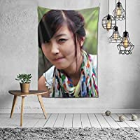 フリー データ 女性 中国 ファッションインテリアデコレーション多機能ベッドルームパーソナリティギフト内壁ハンギングルームカーテンギフトウォールアートファッション新館ウェディングギフトかわいい風景10925