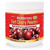 Herba Montmorency Tart Cherry Powder, 150g, Non-GMO, Natural Source of Melatonin, Antioxidants, Organic, Product of Canada, Powder