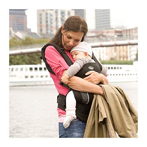 Manduca First Babytrage (Schwarz) - 4