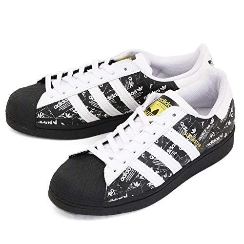 adidas Heren Superstar Sneakers Zwart, 43 1/3