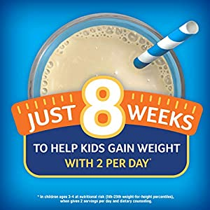 Pediasure Grow & Gain Kids' Nutritional Shake, With Protein, Dha, & Vitamins & Minerals, Vanilla, 8 Fl Oz, 24 Count