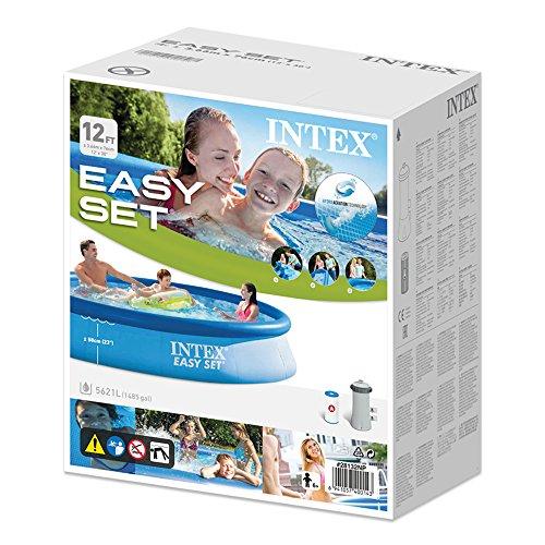 INTEX Kit piscinette Easy Set autoportante 3,66 x 0,76 m