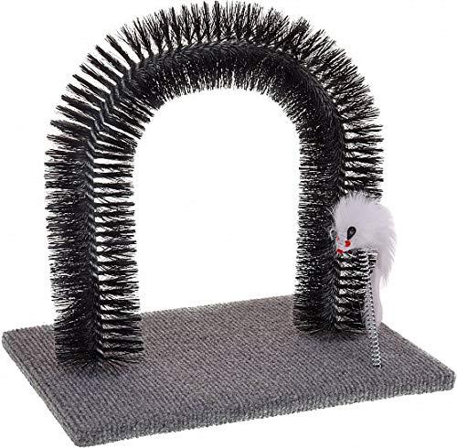 Fair-Shopping Katzenspiel Kratzbaum Kratzspiel Fell-Enthaarung Katze Spielzeug Katzenspielzeug 4360