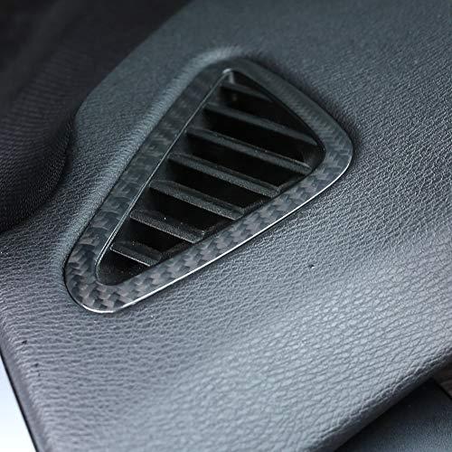 DIYUCAR- Véritable fibre de carbone pour tableau de bord de voiture pour X5 F15 2014-2018 pour accessoires de conduite à gauche