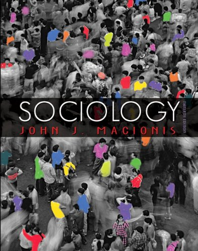 Sociology (with MySocLab with E-Book Student Access Code Card) (12th Edition)
