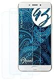 Bruni Schutzfolie kompatibel mit Oppo F1 Plus / R9 Folie, glasklare Bildschirmschutzfolie (2X)