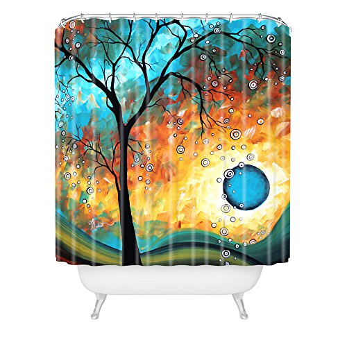 artistic tree shower curtain