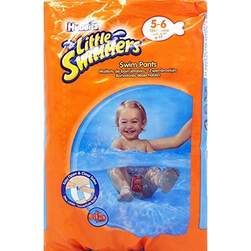HUGGIES Pannolini Bimbi Little Swimmers Large 12-18Kg 11 Pz