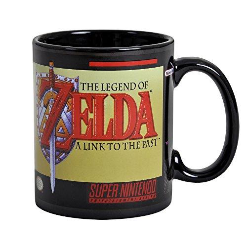 Paladone–Super Nintendo la Leyenda de Zelda Taza, cerámica, multicolor, 10,5x 11,5x 8,7cm