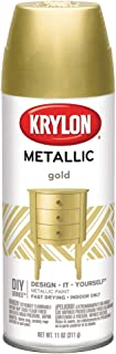 KRYLON DIVERSIFIED BRANDS K01706 Krylon Spray Paint, Gold, 6