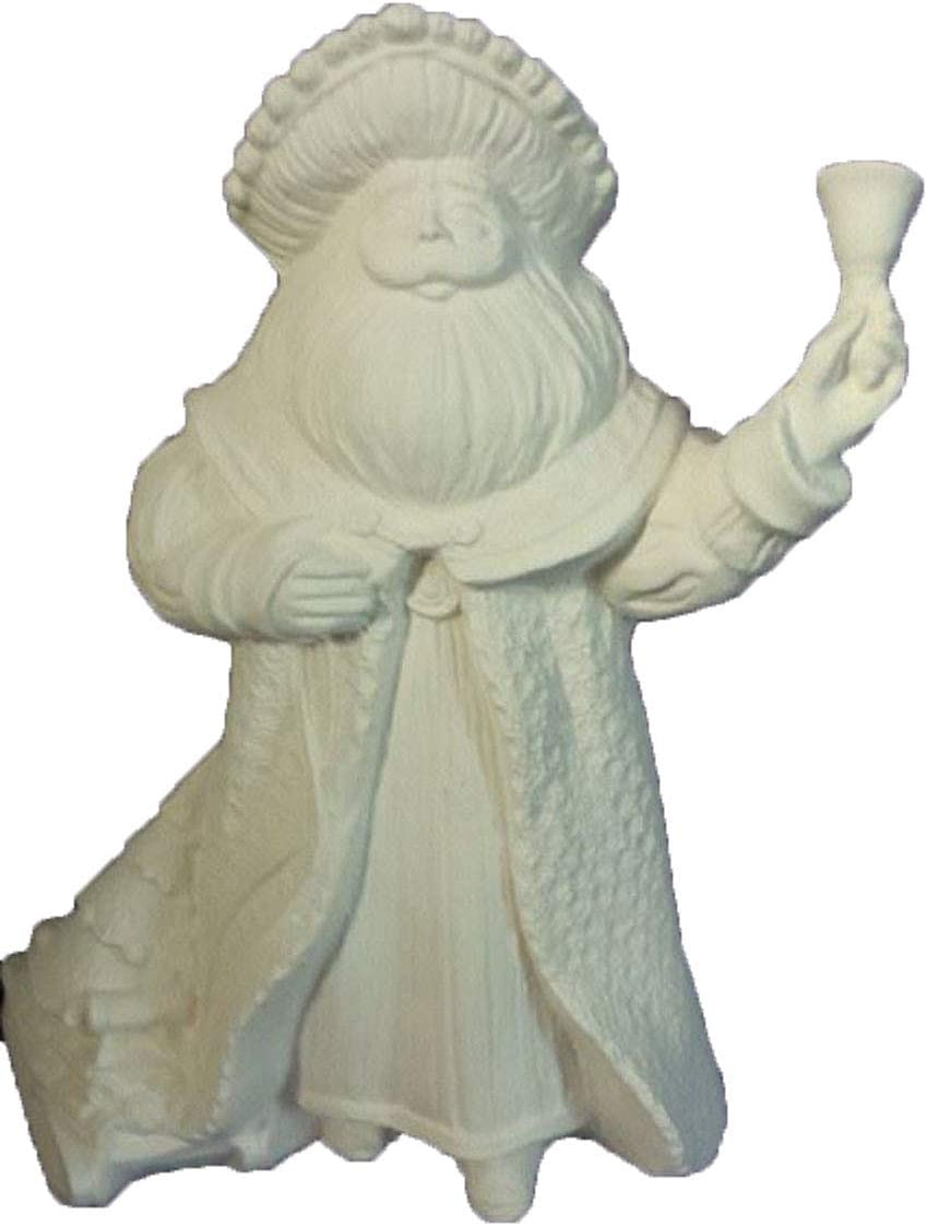Antique Santa Recommended w Sleigh Ranking TOP9 and Bell Bisque Ready Ceramic to Pain 8