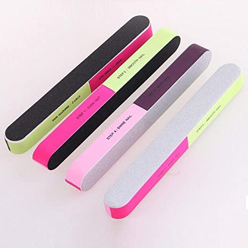 Nail Files Bufers 2 Pcs lotNail Neon Buffing 2021 new Buffer Block Color National products