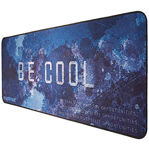 Large Mouse Pad Gaming Be Cool Mice Mat for PC Laptop Non-Slip Water-Resistant (27.6'x11.8')