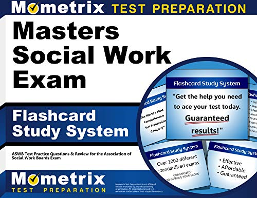 Masters Social Work Exam Flashcard Study System: ASWB Test Practice Questions & Review for the Assoc