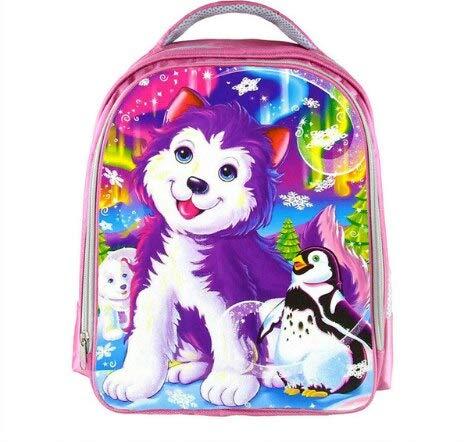 Mochila AAGG de 13 Pulgadas, Mochila de Unicornio con diseño de Oso de Gato, Mochila para niños y niñas, Mochila Escolar para niños y niñas, Bolsa de guardería, Color Ciruela