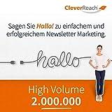 CleverReach Newsletter Software, Email Marketing Automation, High Volume Tarif 2.000.000, Web Browser, Kostenfreies Probeabo -