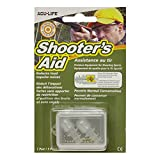 Acu-Life Shooter's Aid Earplugs for Hunting Acu-life Ear Plugs 1 Pair Nrr 18