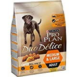 Purina ProPlan Duo Delice Medium pienso para Perro mediano Adulto Pollo 4 x 2,5 Kg