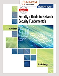 MindTap Information Security, 1 term (6 months) Printed Access Card for Ciampa's CompTIA Security+ Guide to Network Security Fundamentals