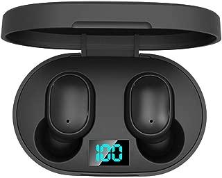 vobome Mini Gancho para la Oreja Unilateral Manos Libres est/éreo Bluetooth inal/ámbrico Manos Libres Bluetooth para Moto
