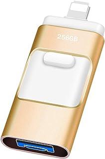 Clé USB 256 Go Kaulery USB 3.0 Clef USB pour iPhone Extension de Stockage Mémoire Stick pour iOS OTG Andriod PC Ordinateur...