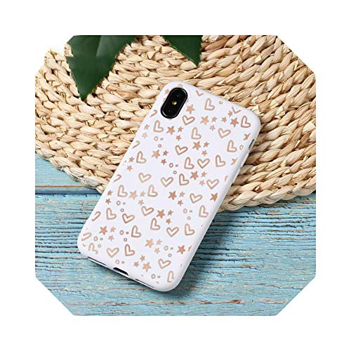 Cute Cartoon Pink Simple Love Phone Case Candy Color for iPhone 6 7 8 11 12 S Mini Pro X XS XR Max Plus A5 for iphoneXSMAX