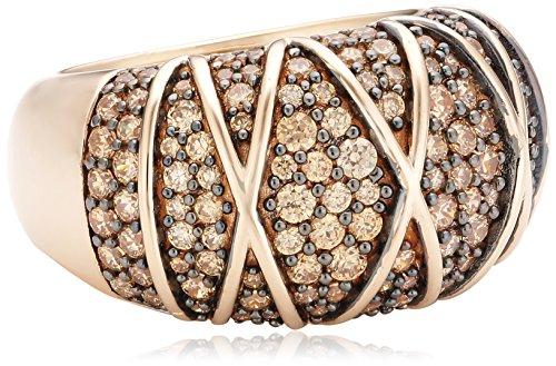 Joop Damen-Ring 925 Sterling Silber Zirkonia Mosaics rosa Gr.55 (17.5) JPRG90724C550