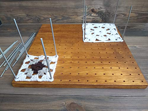Large Wooden Blocking Board