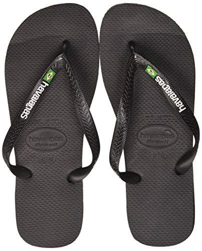 Havaianas Unisex Brazilië Logo Sandalen voor volwassenen