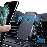 LISEN Phone Holder for Car, AUTO Locking Phone Mount Car with Hook Like