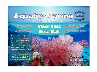 AQUA LIGHT Aquatic Marine Meersalz 30kg