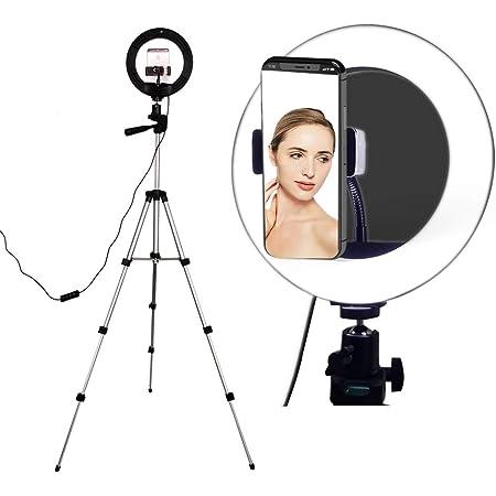 Selfie Ringlicht Mit Stativ Ständer Ringlicht Mit Kamera