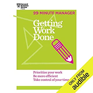 Getting Work Done audiobook cover art