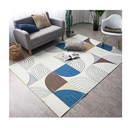Tapijt, groot, antislip, voor woonkamer, slaapkamer, modern patroon, duurzaam, tapijt.