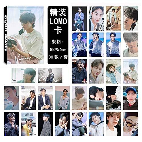 30pcs/Set K-pop GOT7 photocard JB Single 02 Fashion GOT7 Album Photo Card Stationery Set New Arrivals Promotion